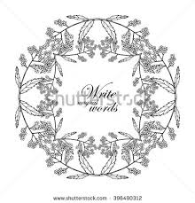 hand drawn oak tree olive tree stock vector 428446117 shutterstock