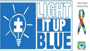 autism speaks light it up blue show your support help raise awareness by wearing blue on april