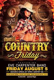 template flyer country free 29 images of country music flyers template free learsy com