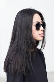 blunt cut long hair straight across hair pinterest blunt
