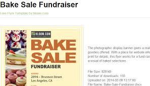 5 free bake sale flyer templates af templates