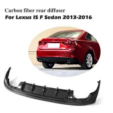lexus hk career amazon com jcsportline carbon fiber rear bumper diffuser for