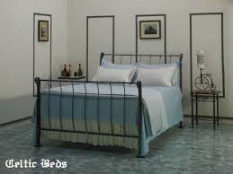 Metal Sleigh Bed The Wrought Iron Bed Company Celtic Beds Sleigh