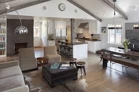 Kitchen Sitting Room Ideas Open Plan Kitchen Living Room Free Home Decor