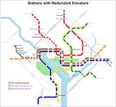 Washington Dc Metro Map Pdf by These Metro Stations Have Backup Elevators U2013 Greater Greater