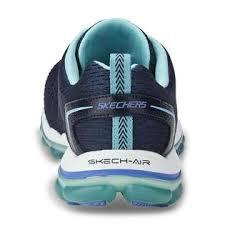 skechers women u0027s skech air run 2 0 navy blue running shoe