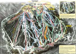 Colorado Mountain Map by Copper Mountain Resort Skiing Snowboarding Colorado Vacation