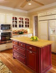 kitchens with different colored cabinets two different color kitchen cabinets home design ideas