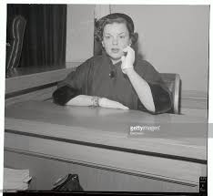 Daughter Nervous Judy Garland Sitting In Testimony Booth Pictures Getty Images