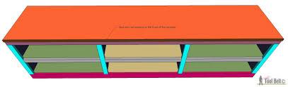 Build A Shoe Bench Shoe Shelf Bench With Pocket Holes Her Tool Belt