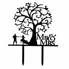 amazon com ecape sweet wedding cake topper mr and mrs dancing