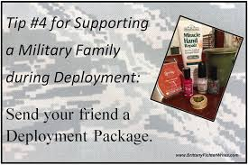 9 ways to support a family during deployment