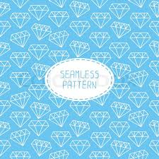 vector seamless retro pattern with vintage hipster diamond for