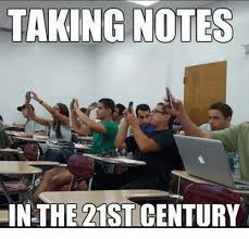 Meme Notes - taking notes in the 21st century meme on me me