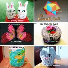 cara membuat origami hello kitty 3d imo haircut applique origami video panduan membuat aneka hiasan