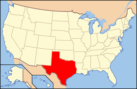 Map Of The United States With Cities List Of Cities In Texas By Population Wikipedia