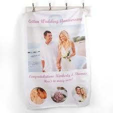cotton anniversary gifts for him 2nd wedding anniversary gift custom cotton anniversary gifts