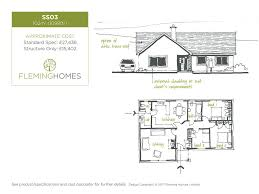 Uk Floor Plans by Single Storey Design Styles From Fleming Homes Timber Frame