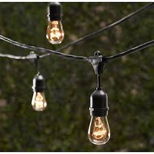 vintage string lights bulbs not included commercial grade