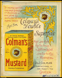 colman mustard colman s mustard celebrates 200 years on britain s tables