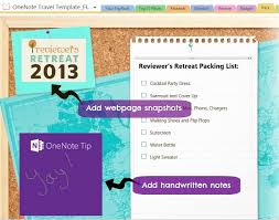 onenote calendar template travel made easy with microsoft onenote travel template giveaway