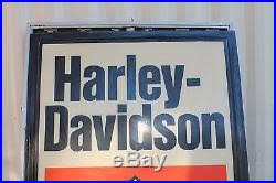 harley davidson lighted signs vintage original harley davidson dealership outdoor lighted sign