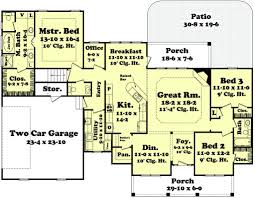 Floor Plans With Porches Blaire House Plan U2013 House Plan Zone