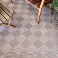 Patio Interlocking Tiles by Blocktile Flooring Perforated Interlocking Tiles 30 Pack Hayneedle