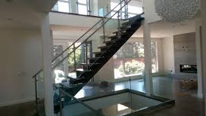 awesome interior glass railings contemporary amazing interior