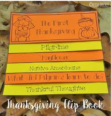 the thanksgiving interactive flip book kinderland