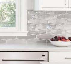 white kitchen cabinets with hexagon backsplash 45 all about hexagon backsplash kitchen white cabinets 53