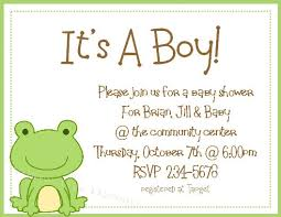 awesome free template frog baby shower invitations baby shower