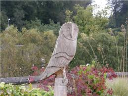 the beautiful of owl sculpture gunsontheroof sculpture