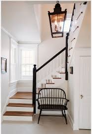 Bench For Foyer by Furniture Foyer Bench On Pinterest With Brown Wooden Railing Also