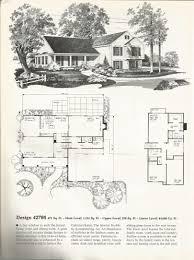 Antique colonial house plans