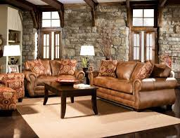 furniture modern rustic formal living room furniture with leather