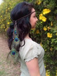 peacock headband peacock feather headband b1055 vividbloom