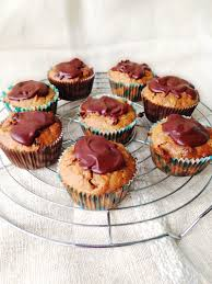 healthy carrot cake cupcakes with chocolate glaze better baking