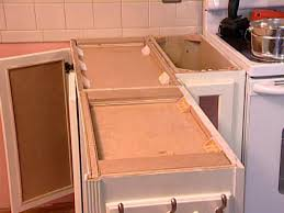 build a bamboo butcher block kitchen peninsula hgtv