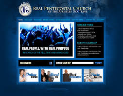 church website design ideas