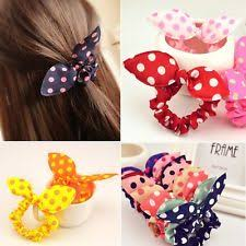 hair tie holder 10pcs wholesale lot rabbit ear hair tie bands japan korean style