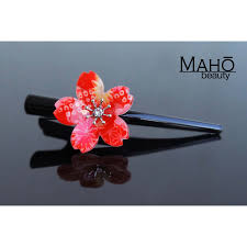 japanese hair ornaments japanese hair accessory ornamental hair clip cherry blossom
