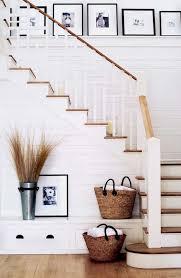 Staircase Decorating Ideas Wall 80 Modern Farmhouse Staircase Decor Ideas Livingmarch Com