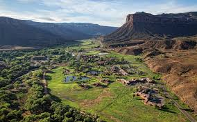 Gateway Colorado Map Gateway Canyons Resort U0026 Spa Hotels Travel Leisure