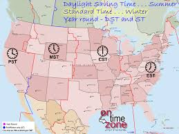 Images Of The Map Of The United States by Ontimezone Com Time Zones For The Usa And North America