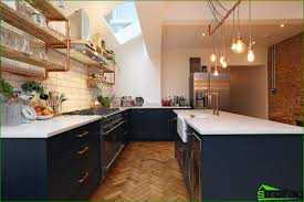 kitchen without upper cabinets 75 amazing functional ideas