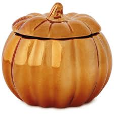 halloween candle warmers coppered pumpkin shaped filled candle 6 5 oz candles hallmark