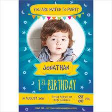 18 kids party invitation templates free psd ai vector eps