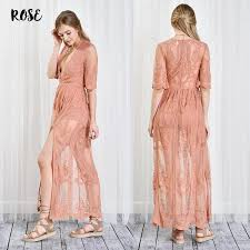 lace maxi dress as you wish embroidered lace maxi dress women more colors
