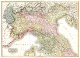 Map Venice Italy by File 1809 Pinkerton Map Of Northern Italy Tuscany Florence